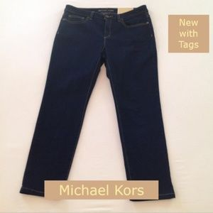 SALE ❤️ NWT Michael Kors Cropped Skinny Jeans